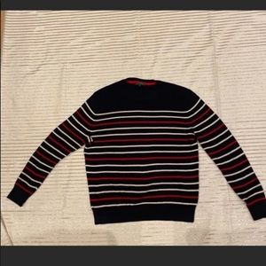 Express men's striped sweater